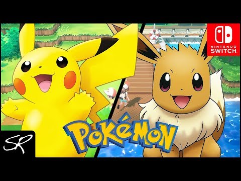 Pokemon: Let's Go Pikachu & Let's Go Eevee are COMING!!! (Nintendo Switch Discussion)