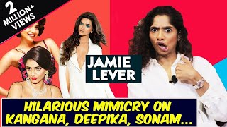 Hilarious Mimicry Of Bollywood Stars By Johnny Lever's Daughter Jamie Lever | Stand Up Comedian
