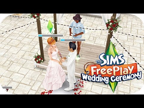 The Sims Freeplay | Wedding Ceremony!