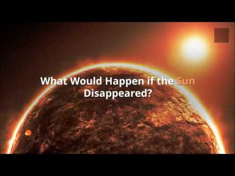 What Would Happen if the Sun Disappeared?
