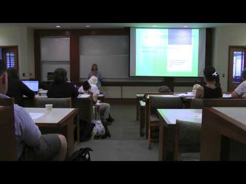 Presentations on Social Psychology and New Research