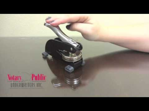 How to Place Your Modern Embosser Insert