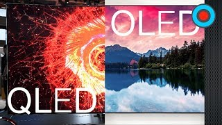 QLED vs OLED explained @ CES 2017