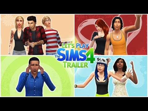 Let's Play the Sims 4: Trailer