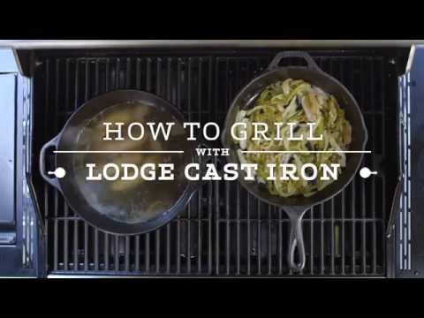 How to Grill with Lodge Cast Iron