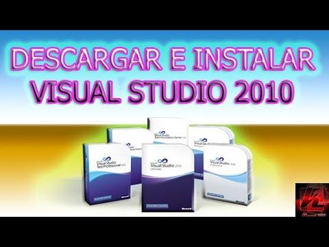 ====descargar e instalar visual studio 2010====