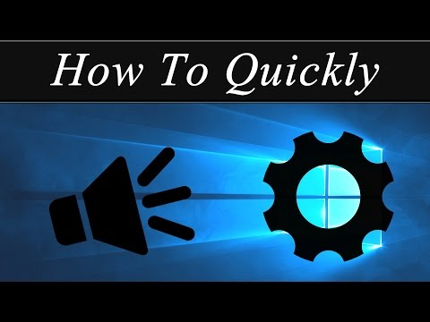 How To Quickly: Change The Windows 10 Logon/Logoff Sound