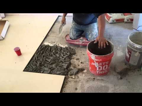 How to install marble