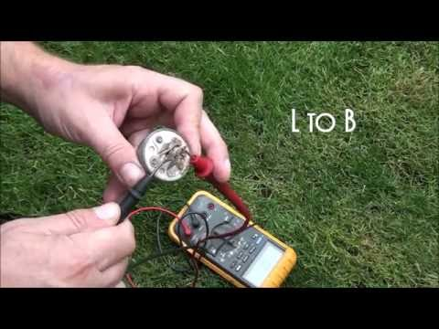 HOW TO TEST a RIDING LAWNMOWER KEY SWITCH. How to Test a 5 PRONG LAWNMOWER IGNITION SWITCH