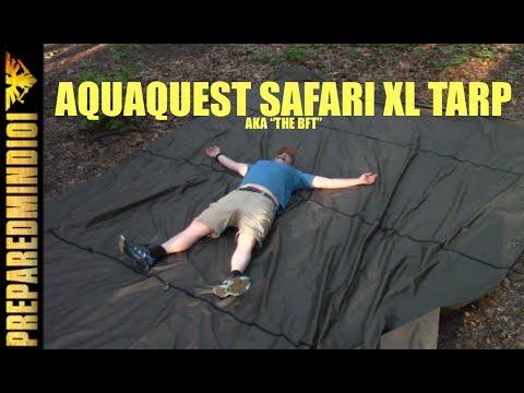 Aquaquest Safari XL Tarp: AKA