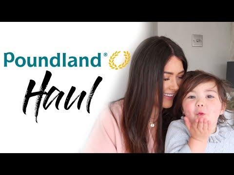 POUNDLAND HAUL 2018 | HOME, SNACKS & TOILETRIES