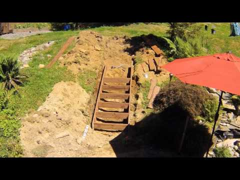 Hillside Stairs Time Lapse