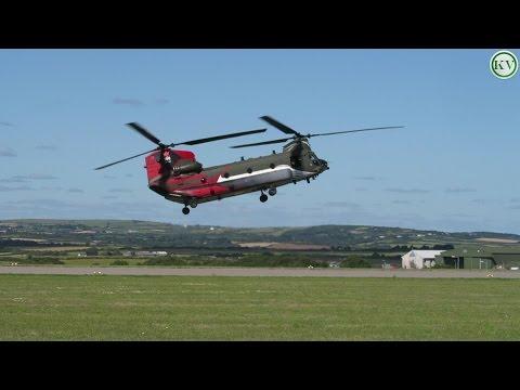 Chinook Display Team, Royal Air Force, RNAS Culdrose Air Day 2015
