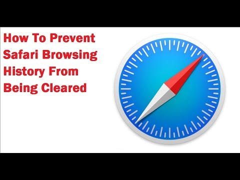 How To Disable Clearing Safari Browsing History
