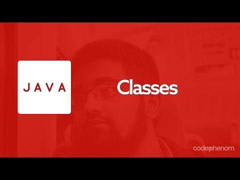 Java Series - 1 - Classes