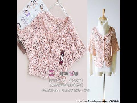 CROCHET PATTERNS| for free |crochet shrug| 11