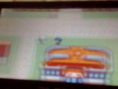 pokemon  platinum  hack on GBA