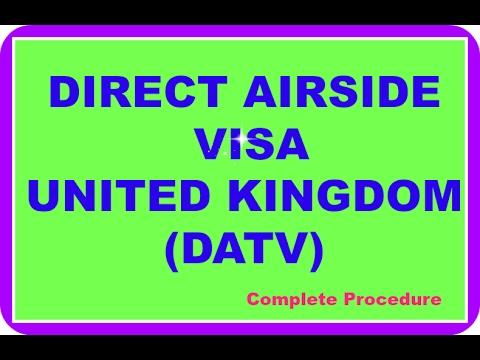 Direct Airside Transit VIsa UK (DATV)