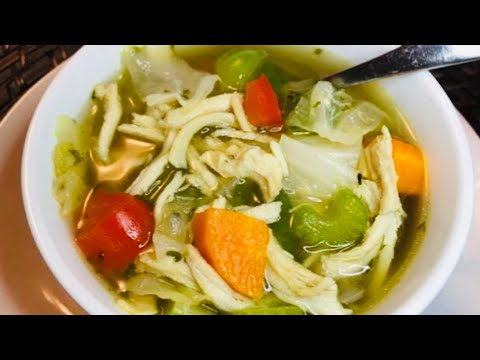 Low Carb: CHICKEN SOUP recipe