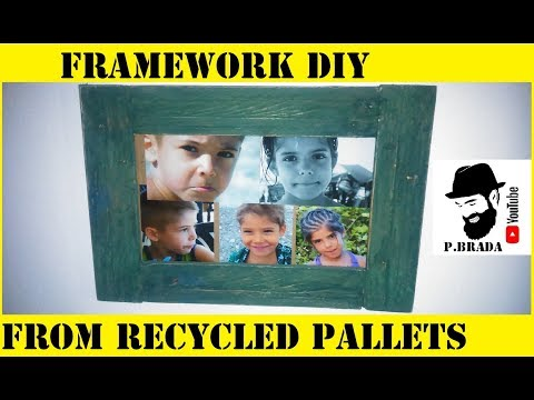 Framework DIY from recycled pallets