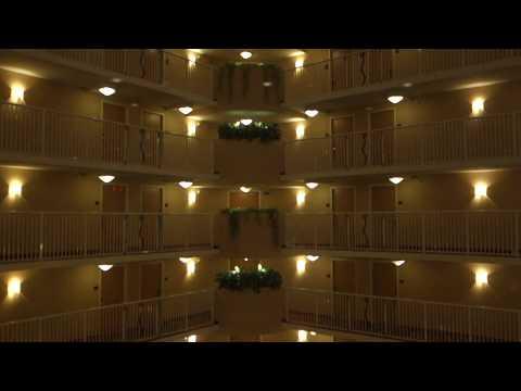 AMAZING!!! KONE Traction Scenic Elevators @ Crowne Plaza Orlando, Universal Blvd, Orlando, FL, USA.