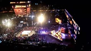 Goldberg entrance - WWE Fastlane - 3/5/17 - Milwaukee
