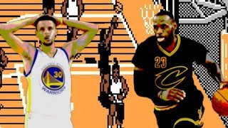 Cavs-Warriors EPIC Game 7 Recreated on NES