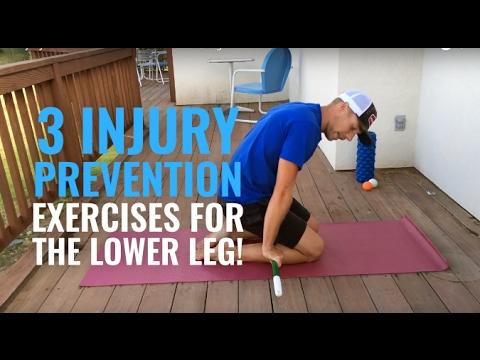 3 Injury Prevention Exercises for Lower Leg!