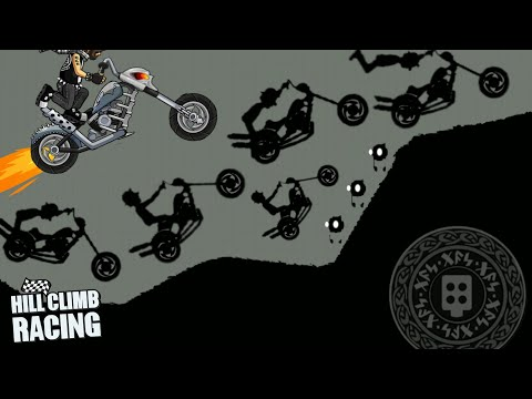 Hill Climb Racing   Legendary Chopper In Ragnarok   3713m Daily Challenge Walkthrough