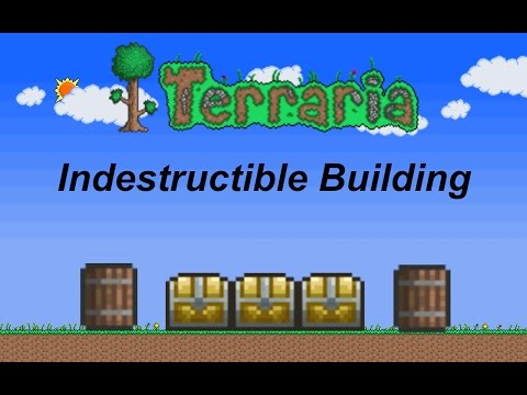 Terraria ios 1.2 | Indestructible Building