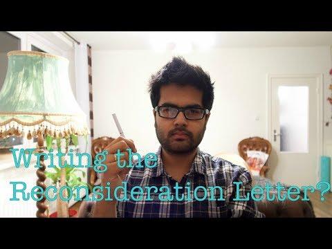 How to write the Reconsideration Letter? || Wie soll ich den Widerspruch einlegen?