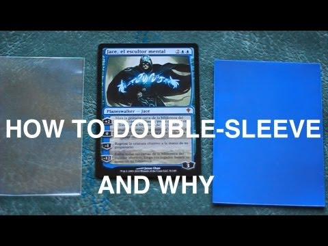 How To Double-Sleeve Your Magic: The Gathering Cards (AND WHY!) MTG