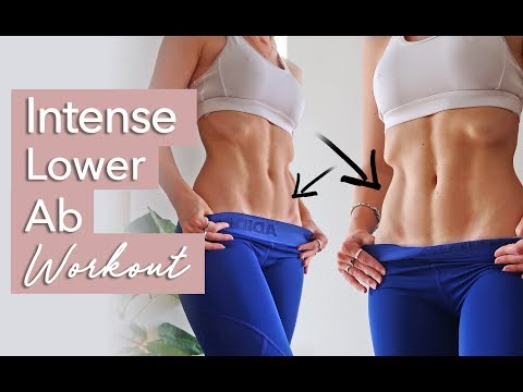 INTENSE Lower Ab Workout!   10 Minutes (TIGHTEN YOUR ABS)