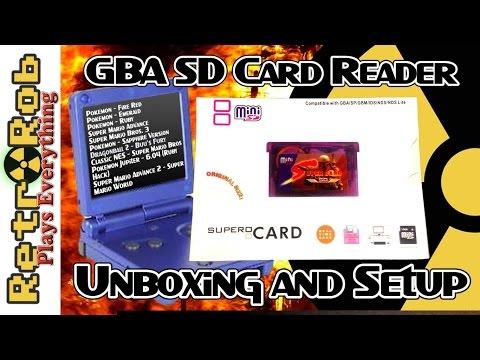 Mini SD Super Card: GameBoy Advance SD Card Reader!