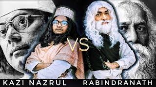 Kazi Nazrul Vs Rabindranath Tagore (Epic Bangla Rap Battle)   Fusion Productions
