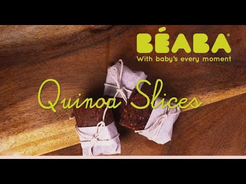 Beaba Babycook Recipe - Quinoa Slices - Direct2Mum