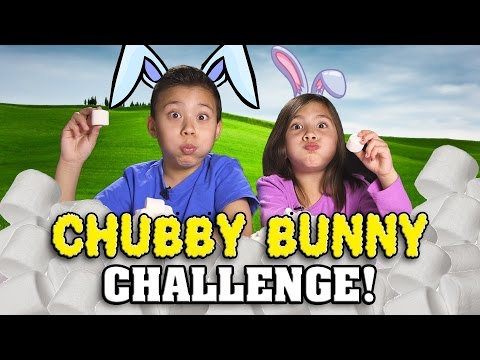 CHUBBY BUNNY CHALLENGE!  Marshmallow Stuffing Contest!
