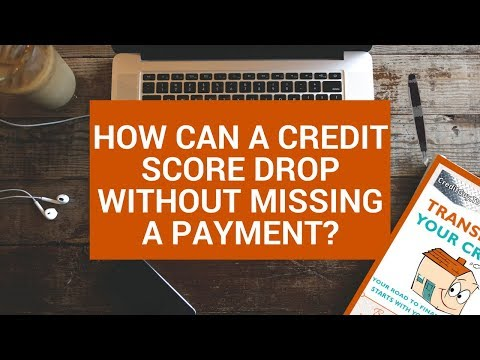 Credit Score Dropped for No Reason?