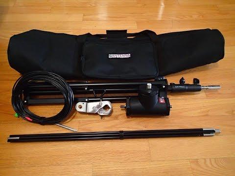 Ham Radio Antenna - HF Portable With The Alpha Vertical Antenna