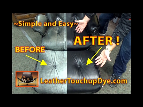Leather Repair Kits that actually WORK and LAST for YEARS !