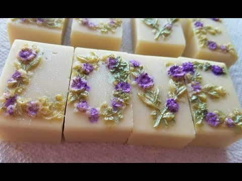 Making LOVE Guest Soaps for Mother's Day!