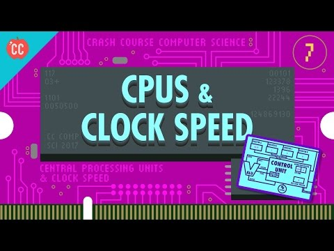 The Central Processing Unit (CPU): Crash Course Computer Science #7