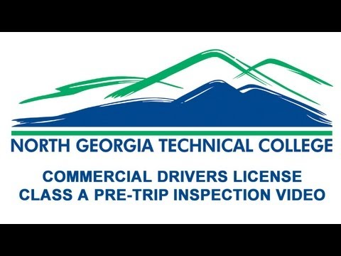 NGTC CDL Pre Trip Inspection