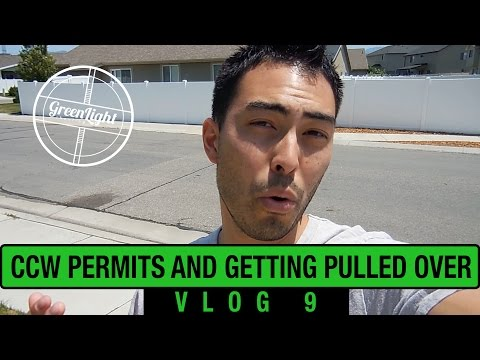 CCW and Getting Pulled Over - GLS VLOG #9