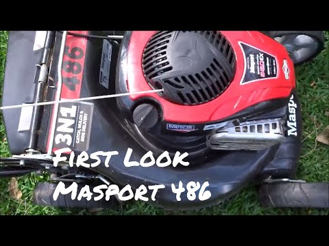 Masport 486 Lawn Mower | First Look