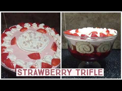 Quick & Easy | Strawberry Trifle