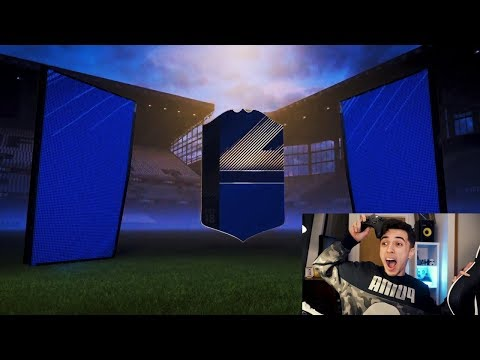 LUCKIEST FIFA 18 TOTY PACK OPENING!!