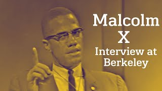 Download Malcolm X - Interview At Berkeley (1963) Video