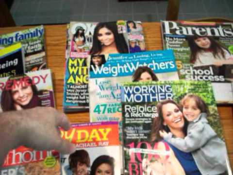 How to get FREE magazine subscriptions!
