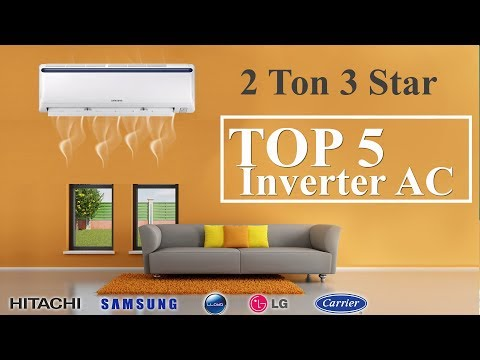 Best 2 Ton Inverter AC in India: Know Features & Price | 3 Star Rating Split Air Conditioner
